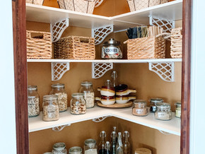 A Closer Look Into My Pantry Makeover- Plus a Little Halloween Tour!