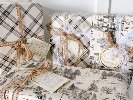 Elegant European Style Gift Wrapping