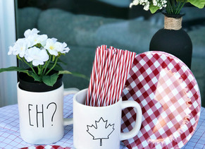 Celebrating Canada Day: Food and Decor for your Backyard Party