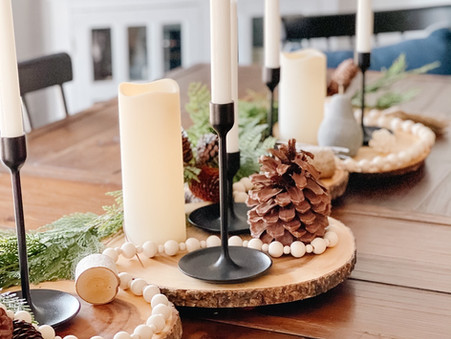 From Christmas to Winter: How to Bring the Outdoors in for the New Year.