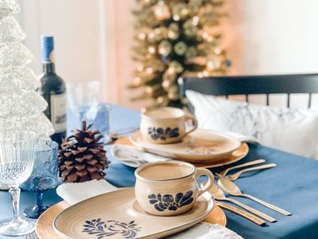 Quick Tips for a Trendy yet Classic Blue European Christmas