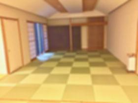宿泊兼セミナー場所の和室