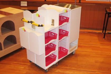 Diaper Exchange Cart