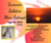 Summer Solstice Mini Retreat June 20, 20