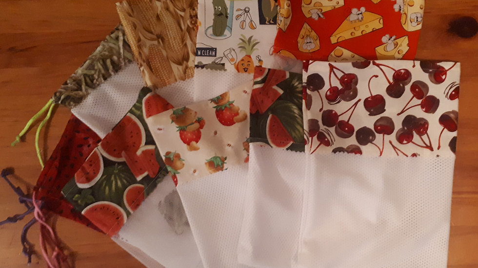 Reusable Fruit and Veggie  Bags