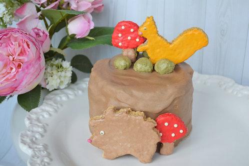'Magical Woodland' Birthday Cake