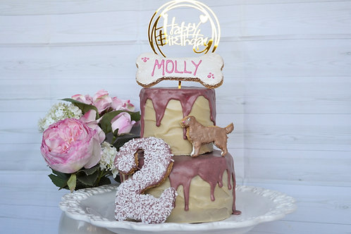 'The Showstopper' 2 tier party cake