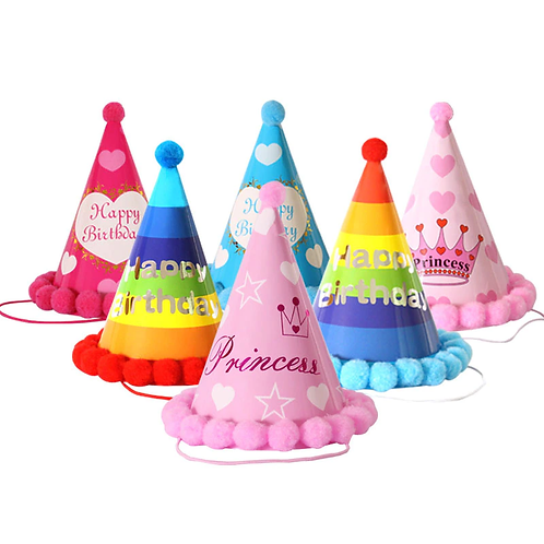 Paper party hat (Medium & Large dogs)