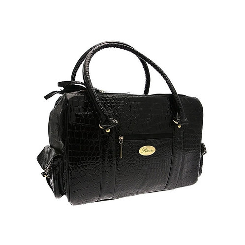 Black Snakeskin carrier