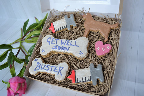 Get well soon gift box