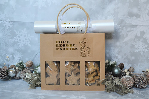 Christmas Gift bag (With Cracker)