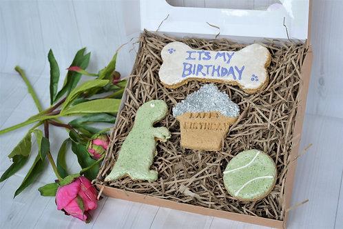 'It's my Birthday' (green gift box)