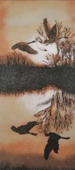 Les Sables De Tacha - Tableau de sable V