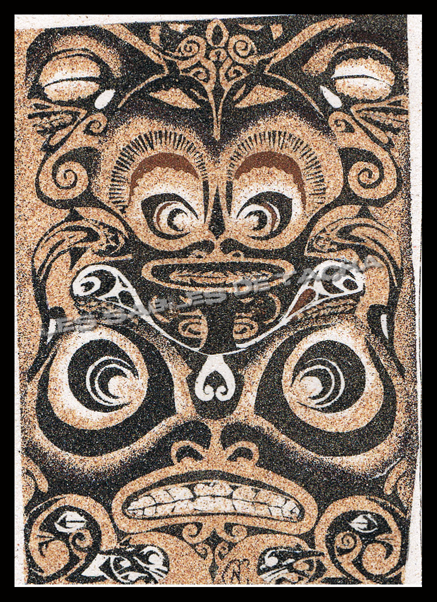 Les Sables De Tacha - Tiki graphisme
