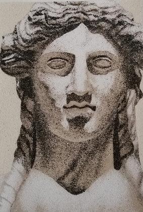 Tableau de sable Statut Grecque