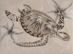 Les Sables De Tacha - Tableau de sable T