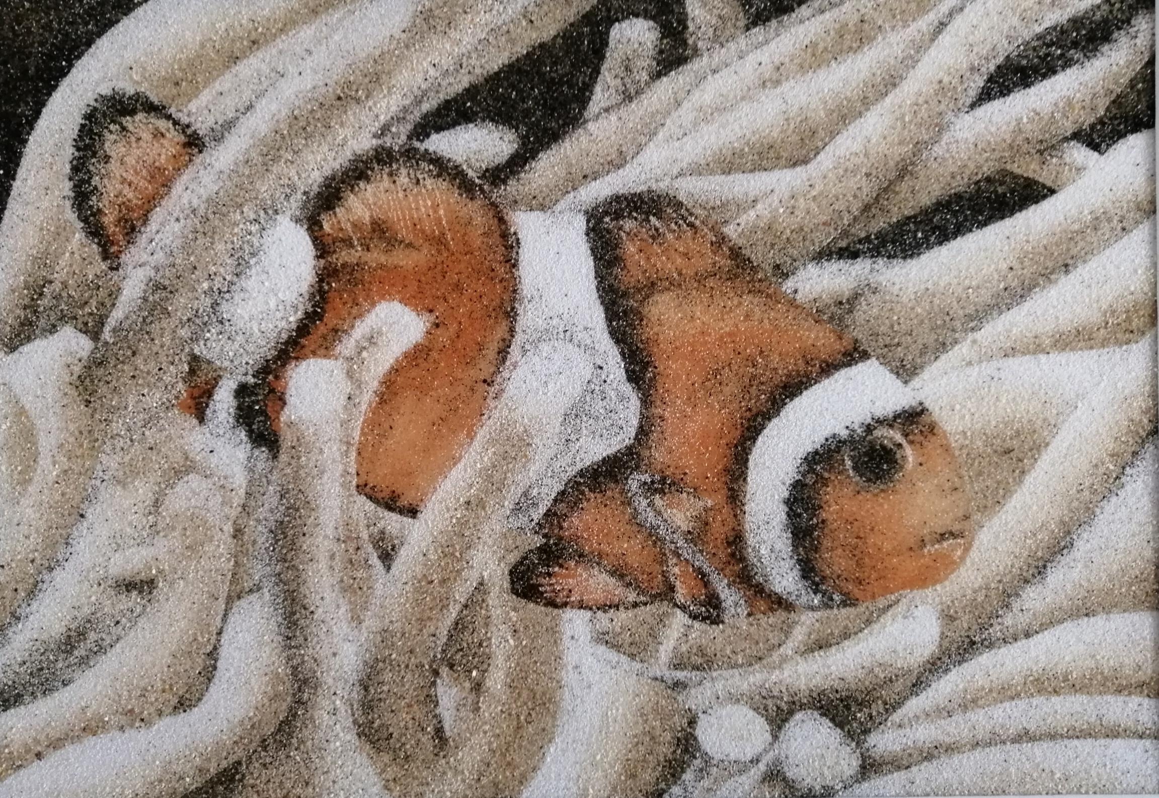 Les Sables De Tacha - Tableau de sable P