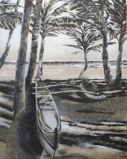 2021 - Va'a sous les palmiers