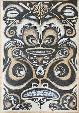 Les Sables de Tacha - Tableaux de sable Esprits Polynésiens