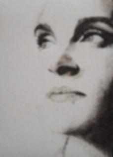 Les Sables de Tacha - Tableau de sable du Portrait de Tacha