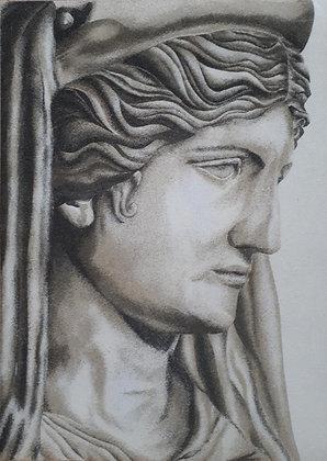 Tableau de sable naturel Statut Demeter