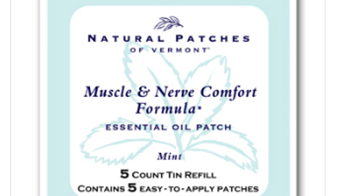 Mint - Muscle & Nerve (5-count tin refill)