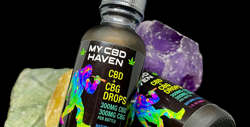 CBD+CBG Tincture Drops with MCT 600mg