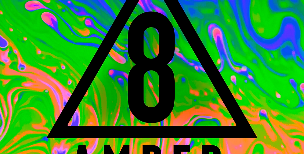 Unflavored Amber Delta 8