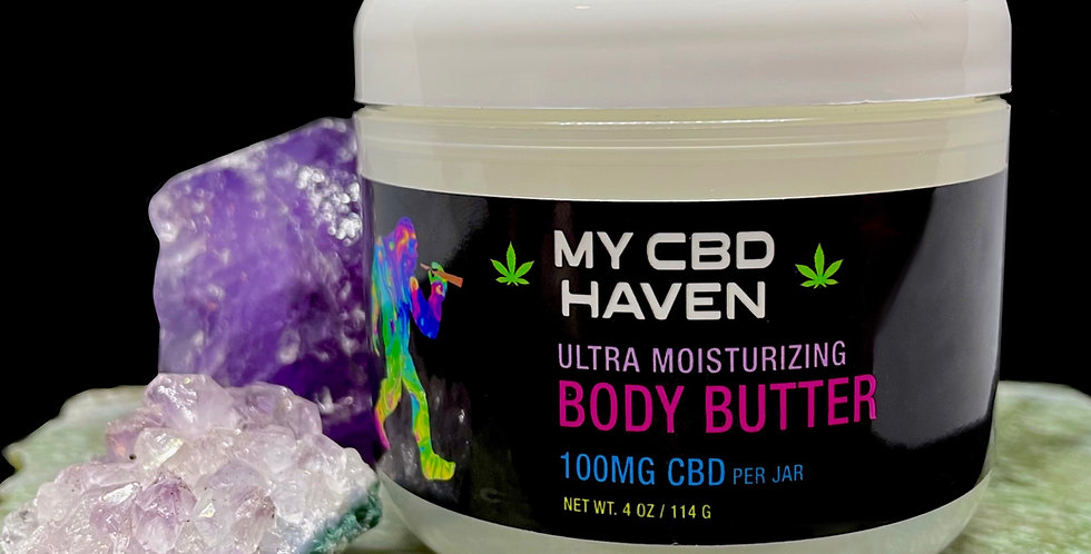 Ultra Moisturizing Body Butter with 100mg CBD