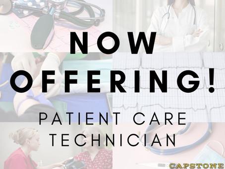 Patient Care Technician Enrollment