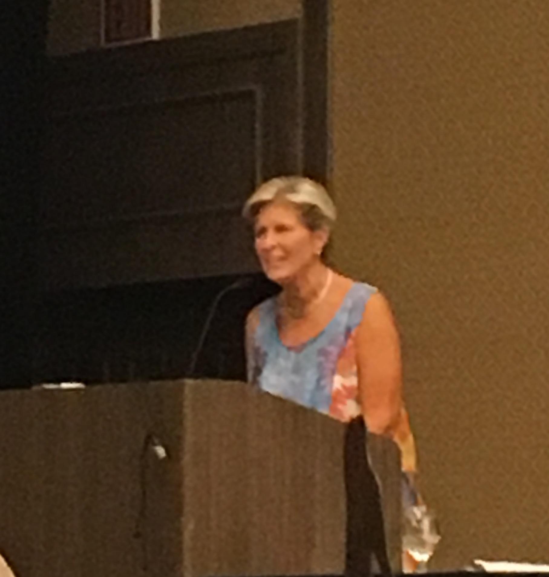 Ruth Ann Griggs, Intl. President