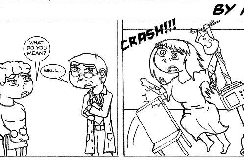 Life is Blurry- Comic Strip #3
