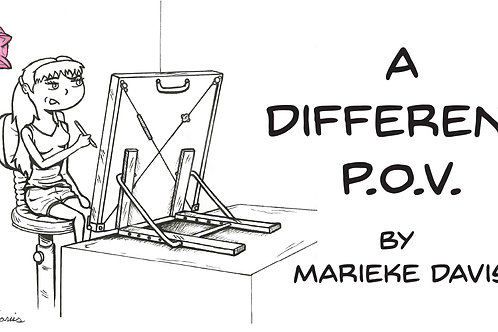 A Different POV (Cover Art/ Drawing)