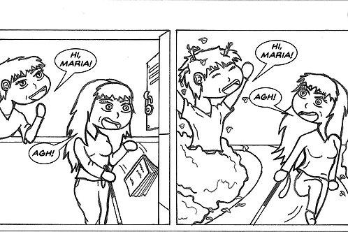 Life is Blurry- Comic Strip #5