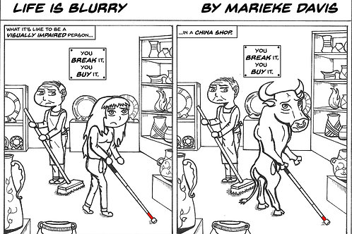 Life is Blurry- Comic Strip #16