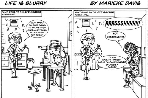 Life is Blurry- Comic Strip #22