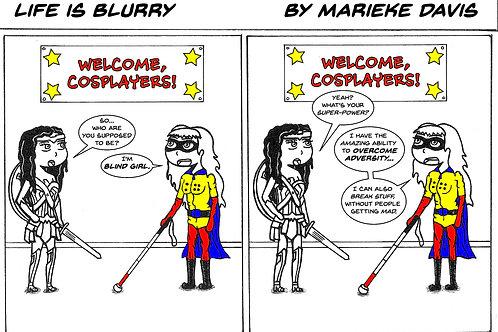 Life is Blurry- Comic Strip #24