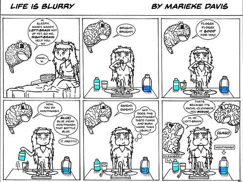 Life is Blurry- Comic Strip #20