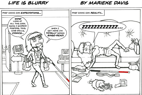 Life is Blurry- Comic Strip #11