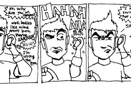 Comics From College aka Emo Boy Strikes Again