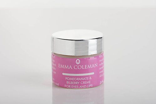 Pomegranate and Bilberry Creme for Eyes and Lips