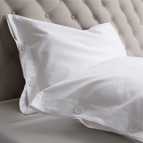 100% Silk Filled Pillows with Cotton Sateen Cover