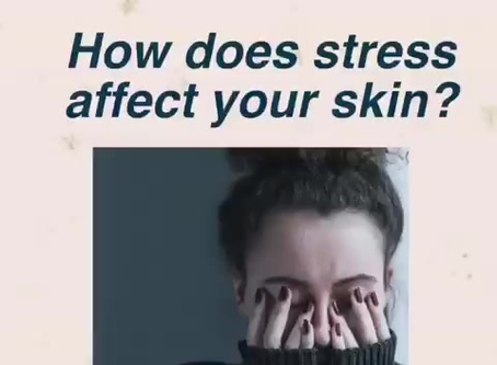 Manage stress and protect your skin