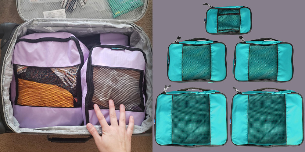 best cute packing cubes for travel