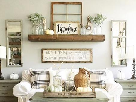 Farmhouse Decor Ideas for Your Next Makeover