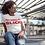 Thumbnail: Unisex | My Degree is Black Shirt (White w/Red)