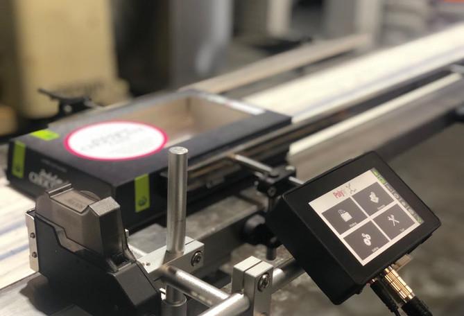 POLYtij® S1i mounted on conveyor belt