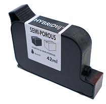 semi-porous ink cartridge