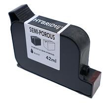 semi-porous ink cartridge
