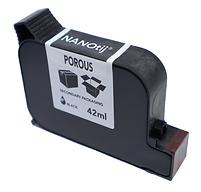 waterbased cartridge, nanotij, porous ink